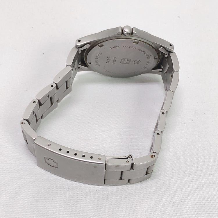 SWISS MILITARY スイスミリタリー 6-413 6-513 メンズ クオーツ 腕時計 R尼0701_画像7