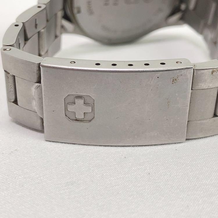 SWISS MILITARY スイスミリタリー 6-413 6-513 メンズ クオーツ 腕時計 R尼0701_画像6