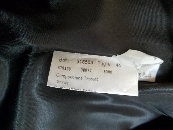 高級! HERNO ヘルノ レディース カシミヤ100% フード付きロングコート ファー イタリア製 44 ブラック/黒色 美品 ※少し訳あり(G2879-5)_画像10