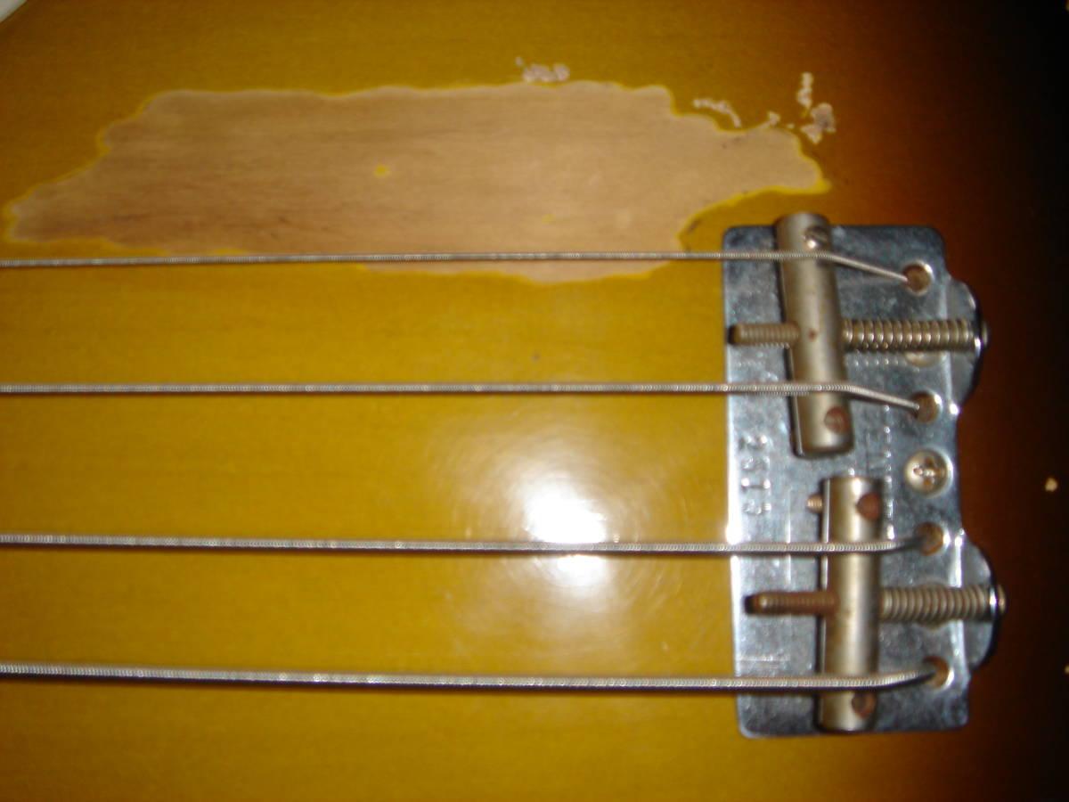 Sting リアルレプリカ Fender テレキャスターベース マ―ケンドリック(Mark Kendrick)作 _画像6