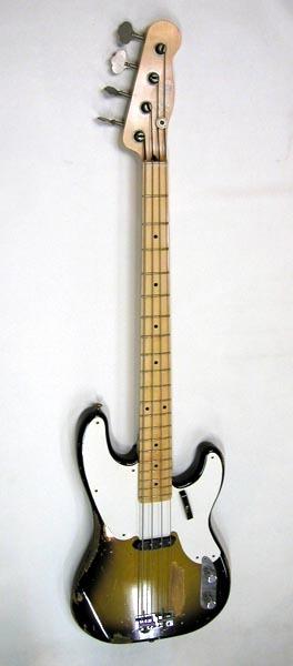Sting リアルレプリカ Fender テレキャスターベース マ―ケンドリック(Mark Kendrick)作