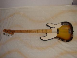 Sting リアルレプリカ Fender テレキャスターベース マ―ケンドリック(Mark Kendrick)作 _画像7