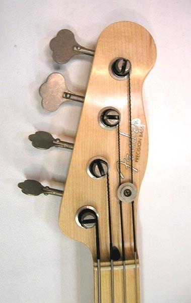 Sting リアルレプリカ Fender テレキャスターベース マ―ケンドリック(Mark Kendrick)作 _画像3