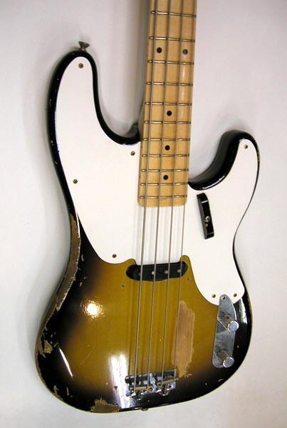 Sting リアルレプリカ Fender テレキャスターベース マ―ケンドリック(Mark Kendrick)作 _画像2