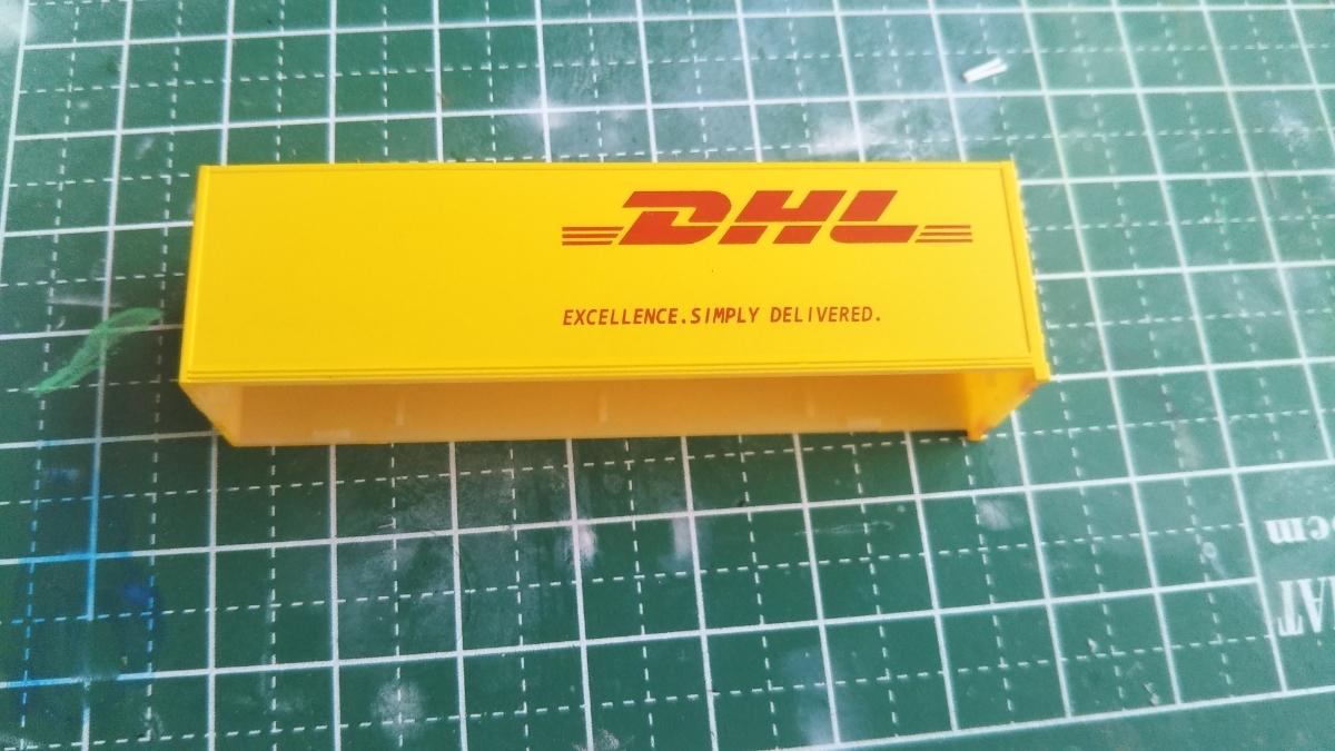 トラックコレクション DHL荷台