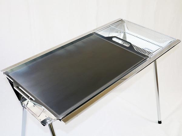ユニフレーム UFタフグリル SUS-900 対応 グリルプレート 板厚4.5mm UN45-18L_画像3