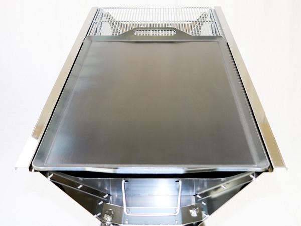 ユニフレーム UFタフグリル SUS-900 対応 グリルプレート 板厚4.5mm UN45-18L_画像5