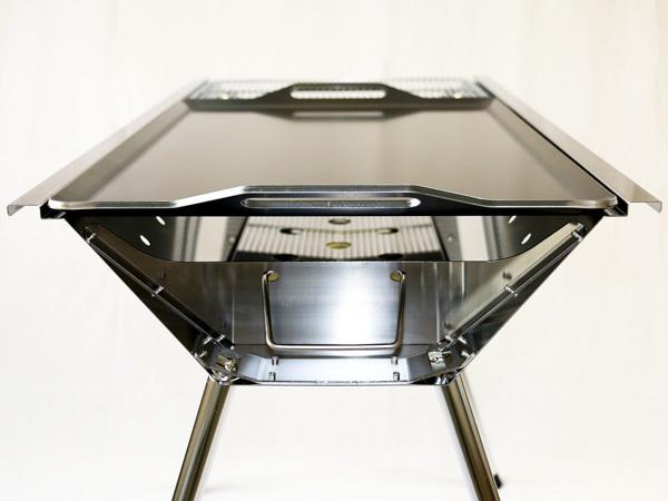 ユニフレーム UFタフグリル SUS-900 対応 グリルプレート 板厚4.5mm UN45-18L_画像6