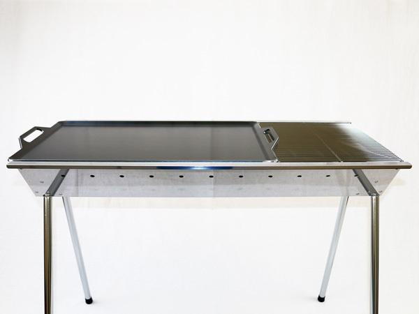 ユニフレーム UFタフグリル SUS-900 対応 グリルプレート 板厚4.5mm UN45-18L_画像4