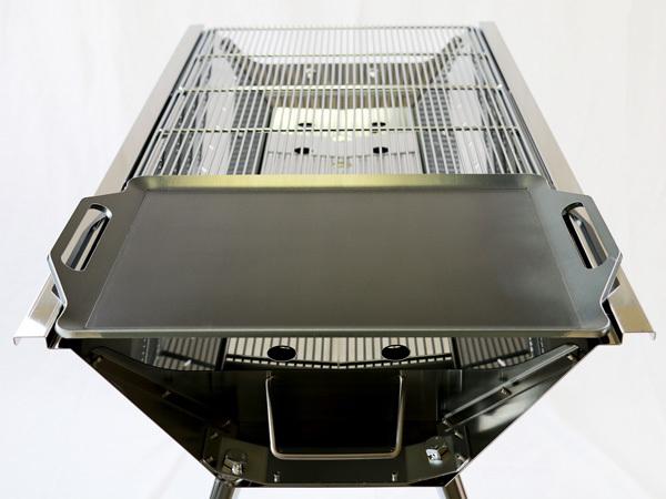 ユニフレーム UFタフグリル SUS-900 対応 グリルプレート 板厚4.5mm UN45-19L_画像5