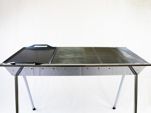 ユニフレーム UFタフグリル SUS-900 対応 グリルプレート 板厚4.5mm UN45-19L_画像4