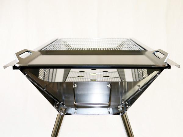 ユニフレーム UFタフグリル SUS-900 対応 グリルプレート 板厚4.5mm UN45-19L_画像6