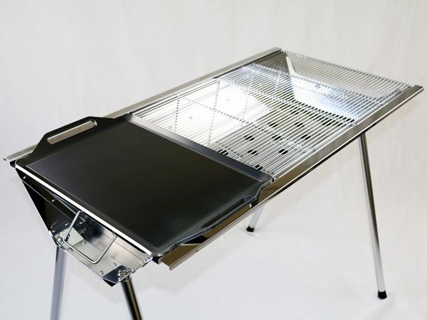 ユニフレーム UFタフグリル SUS-900 対応 グリルプレート 板厚6.0mm UN60-19L_画像3