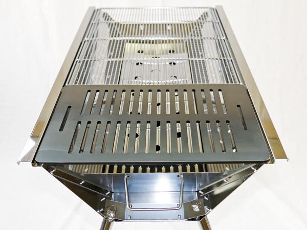 ユニフレーム UFタフグリル SUS-900 対応 グリルプレート 板厚4.5mm UN45-21L_画像5