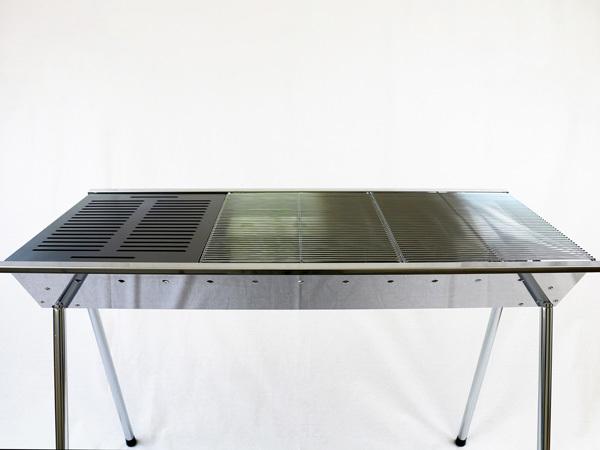 ユニフレーム UFタフグリル SUS-900 対応 グリルプレート 板厚4.5mm UN45-21L_画像4
