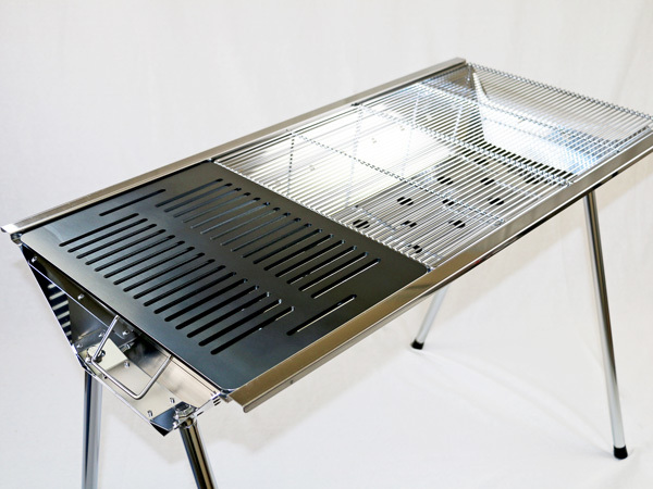 ユニフレーム UFタフグリル SUS-900 対応 グリルプレート 板厚4.5mm UN45-21L_画像3