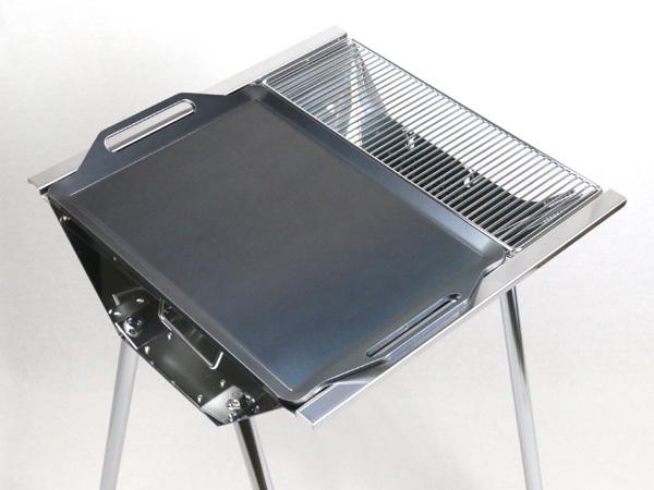 ユニフレーム UFタフグリル SUS-450 対応 グリルプレート 板厚4.5mm UN45-19S_画像3
