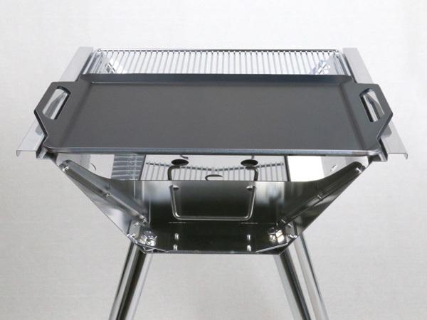 ユニフレーム UFタフグリル SUS-450 対応 グリルプレート 板厚4.5mm UN45-19S_画像5