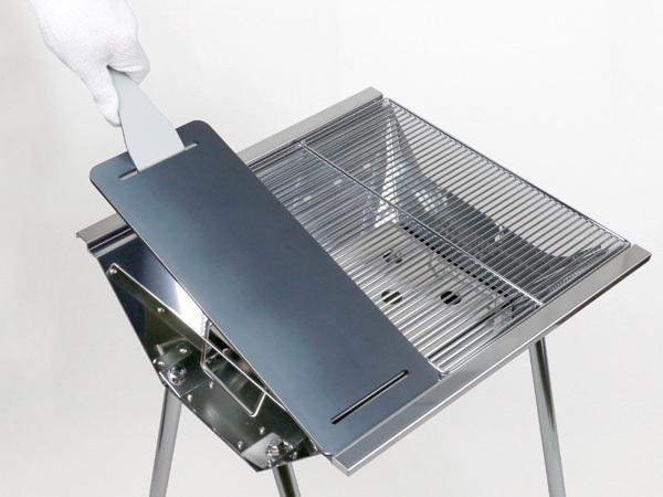 ユニフレーム UFタフグリル SUS-450 対応 グリルプレート 板厚4.5mm UN45-26_画像8