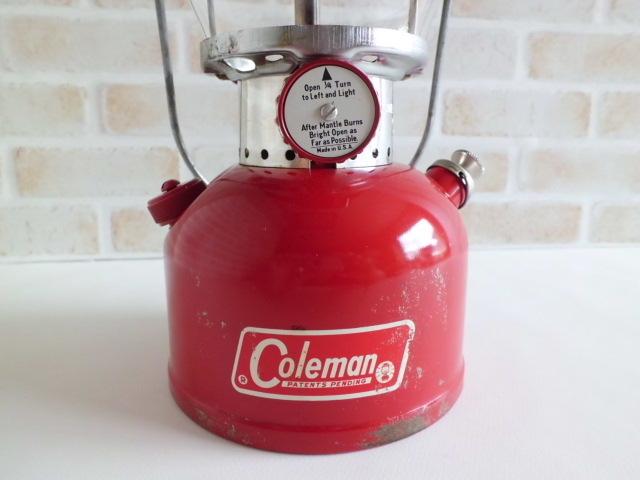 コールマン 200A ランタン 美品70年1月 パテペン / レア・廃盤 coleman ヴィンテージ_画像5