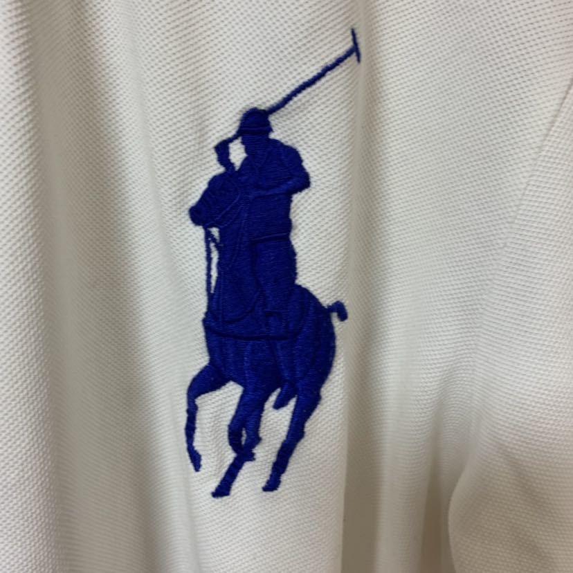 即決 POLO Ralph Lauren ラルフローレン ポロシャツ Mサイズ 中古品 ビッグポニー_画像6