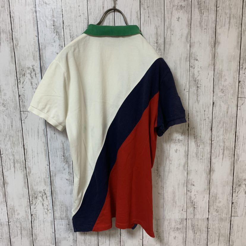 即決 POLO Ralph Lauren ラルフローレン ポロシャツ Mサイズ 中古品 ビッグポニー_画像3