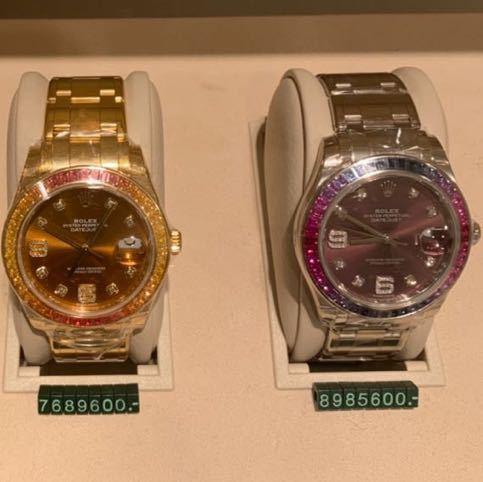 ROLEX メンズ腕時計 86349SAFUBL デイトジャスト パールマスター39_画像8