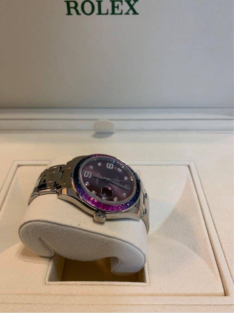 ROLEX メンズ腕時計 86349SAFUBL デイトジャスト パールマスター39_画像2