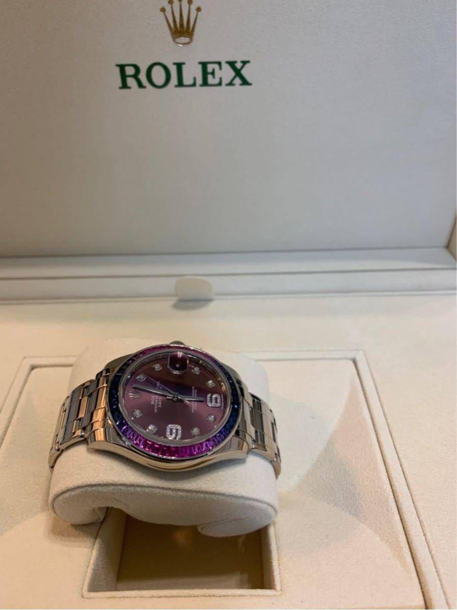 ROLEX メンズ腕時計 86349SAFUBL デイトジャスト パールマスター39_画像3