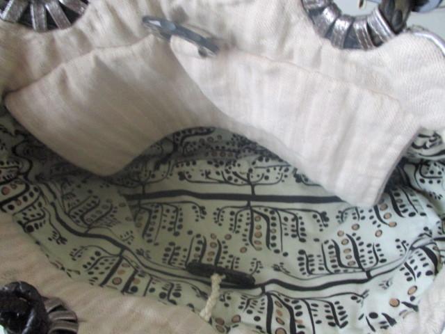 ◆本物 ジャマンピエッシュ レザー装飾キャンパストートバック 美品◆_画像3