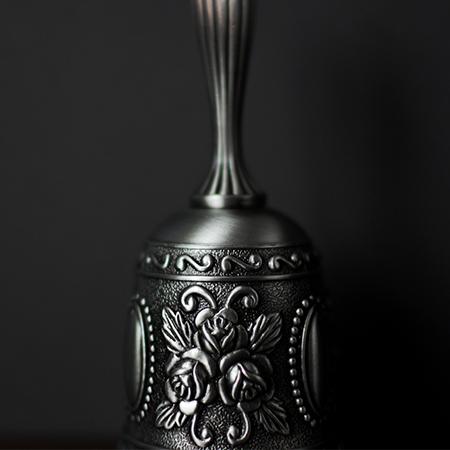 お洒落なベル型のチョプカップ_画像3