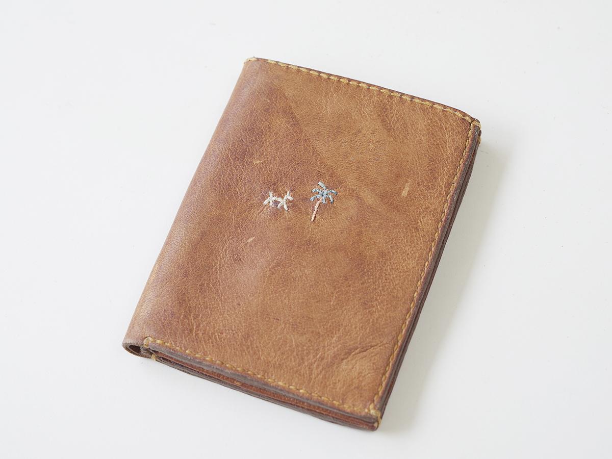 アンリークイール HENRY CUIR レザーウォレット 財布 革 ビンテージ エンリーベグリン
