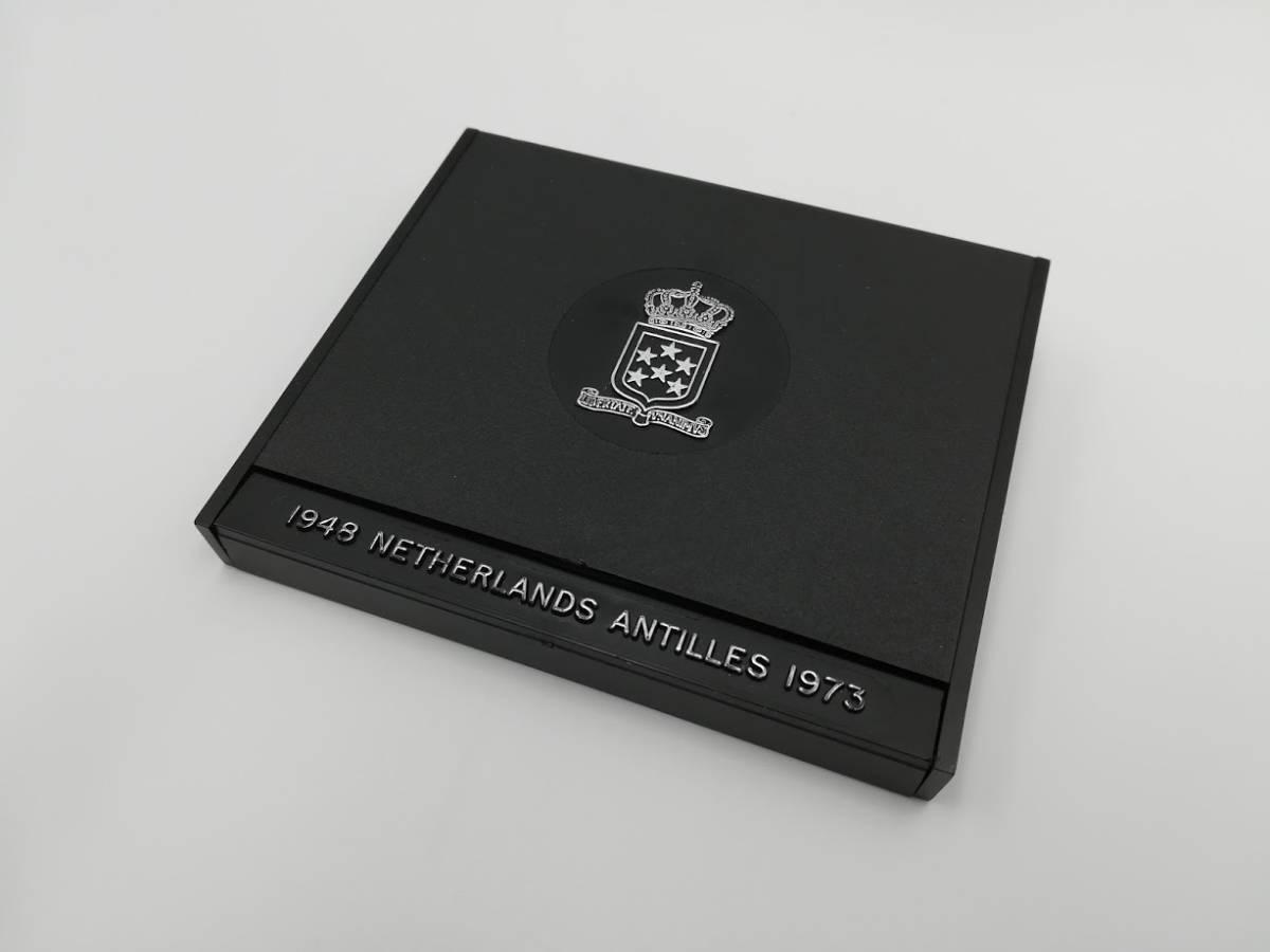 【外国貨幣 プルーフセット】1973 オランダ領アンティルプルーフ銀貨_画像2
