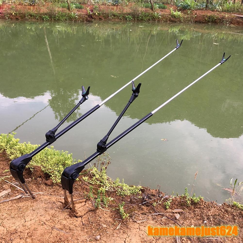 新品 角度調整可能 ロッドスタンド ブラケット 釣竿 ホルダー 2.1m 伸縮式釣り ツール ハンドロッドホルダー 釣り アウトドア 37_画像2