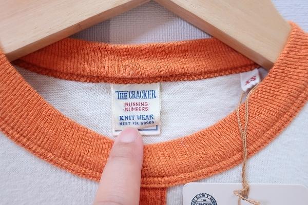 2-3911/THE CRACKER 半袖Tシャツ クラッカー UES ウエス 送料200円 _画像2