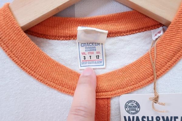 2-3911/THE CRACKER 半袖Tシャツ クラッカー UES ウエス 送料200円 _画像3