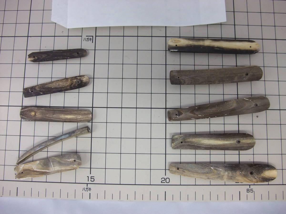 深海松 ヘラ ルアー製作用 10枚セット№3_画像3