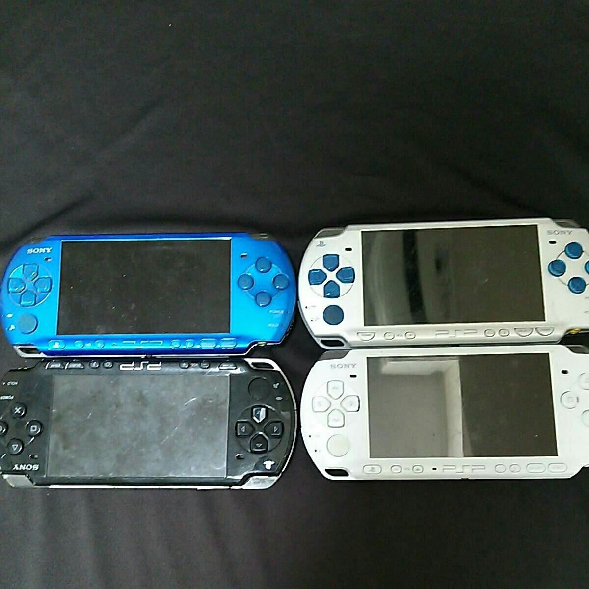 【SONY】PSP 2000 3000 各2台 計4台 ジャンク 動作未確認品
