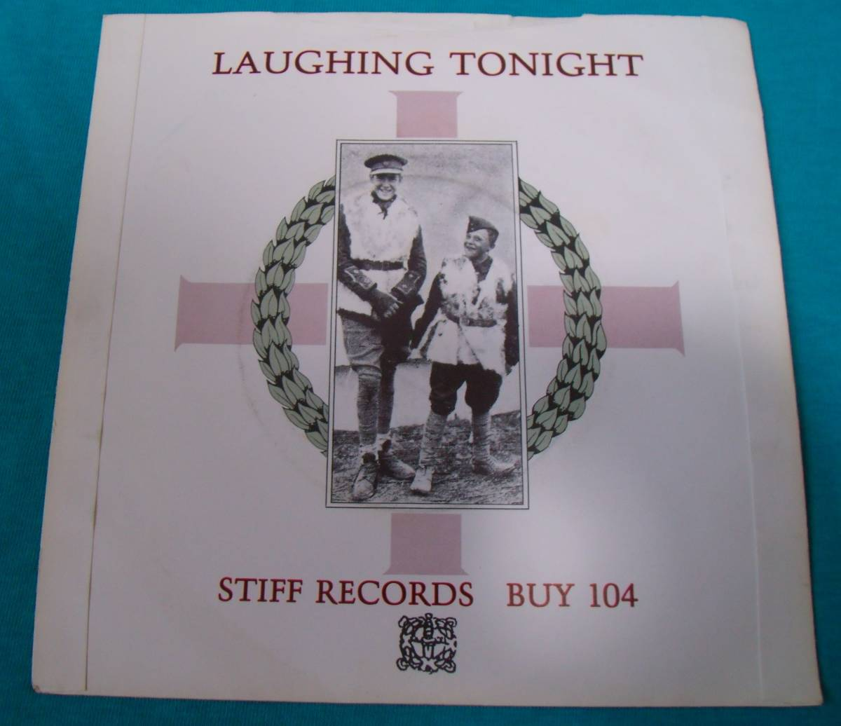 EP●Jona Lewie / Stop The Cavalry UK盤Stiff BUY104 PUB ROCK パブロック_画像2