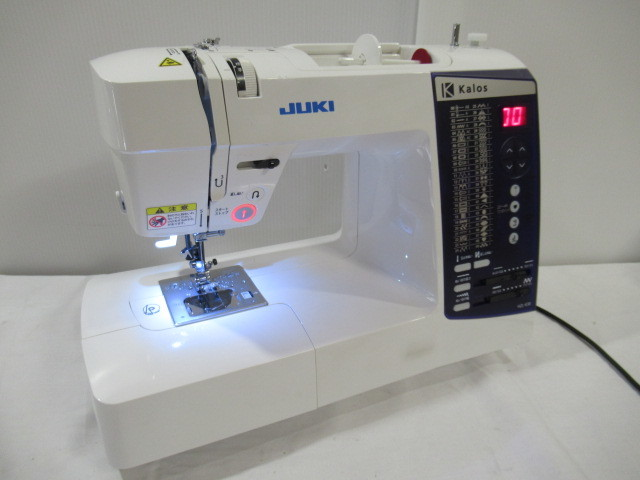 ■ジャンク■現状売 JUKI/ジューキ コンピューターミシン Model:HZL-K30 動作確認済(針が動く事のみ)