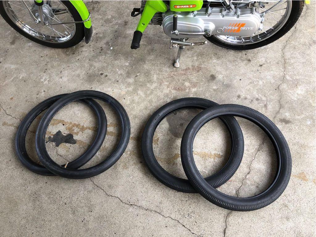 ホンダ ロードパル タイヤ チューブ 純正品 中古品 パルフレイ