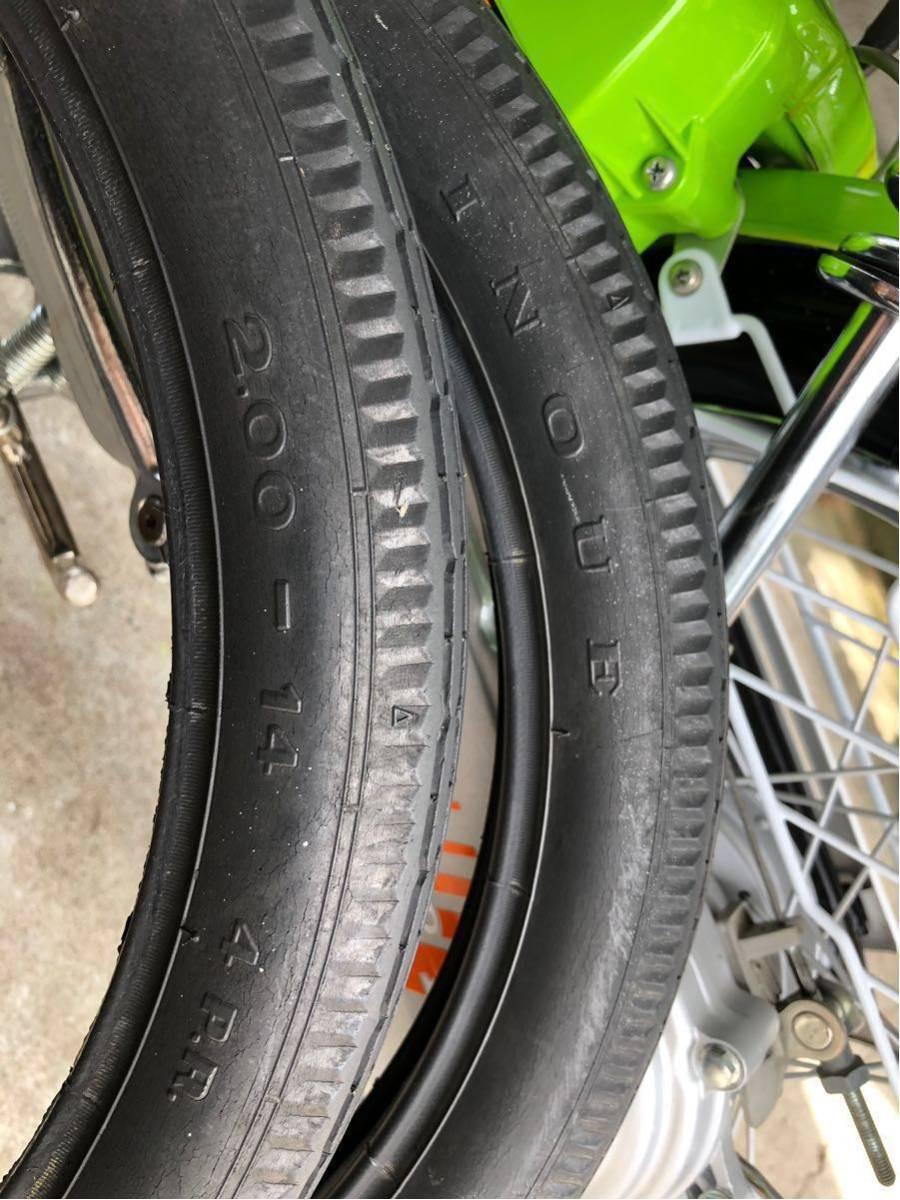 ホンダ ロードパル タイヤ チューブ 純正品 中古品 パルフレイ_画像6