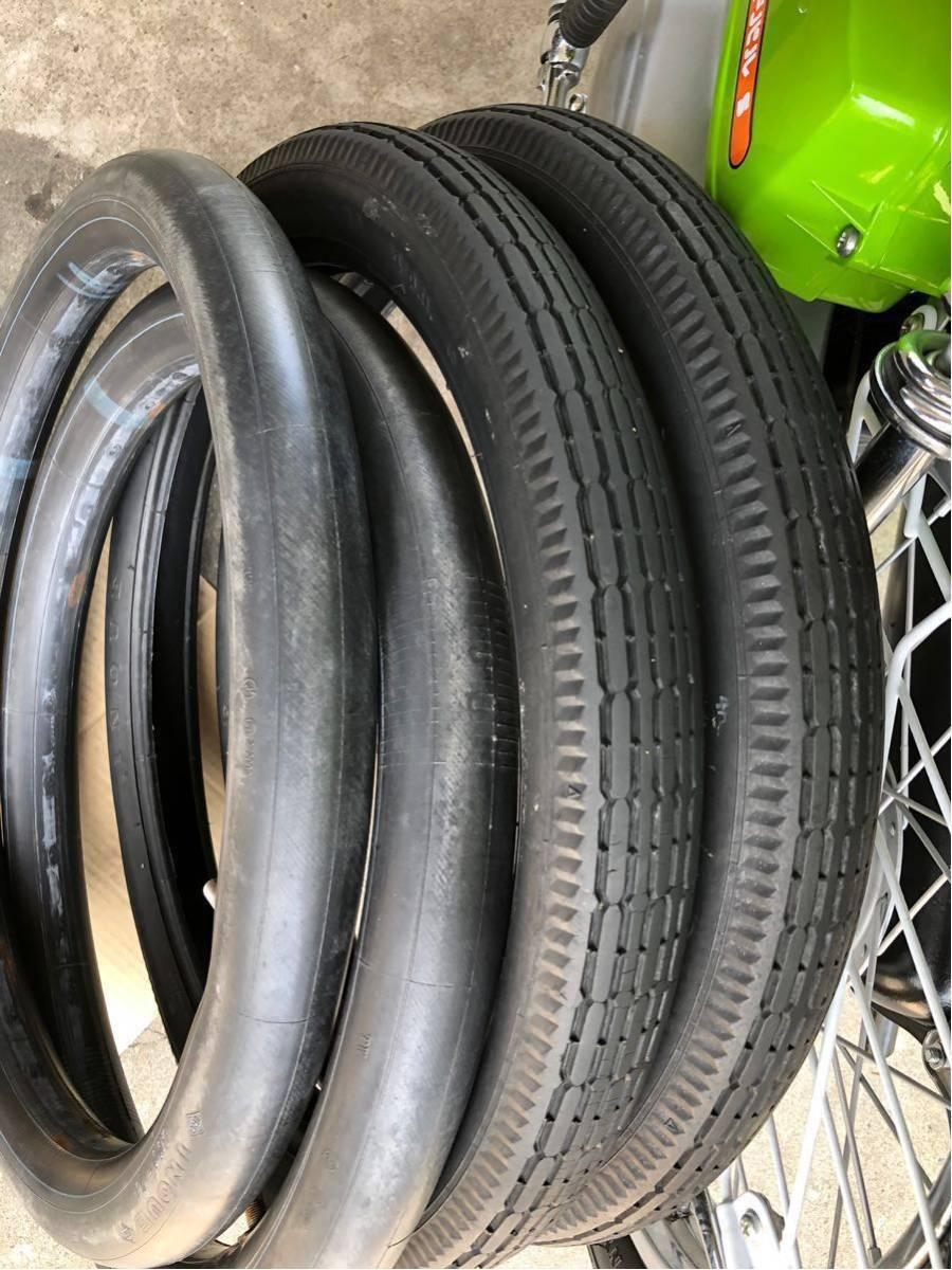 ホンダ ロードパル タイヤ チューブ 純正品 中古品 パルフレイ_画像2