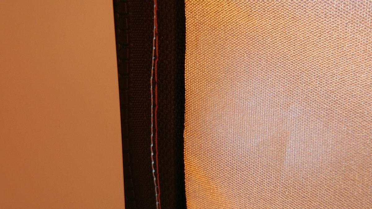 ワンタッチタープ フィールドアー 2.5mx2.5m オレンジ サイドシート付 ワンタッチテント FIELDOOR _画像8
