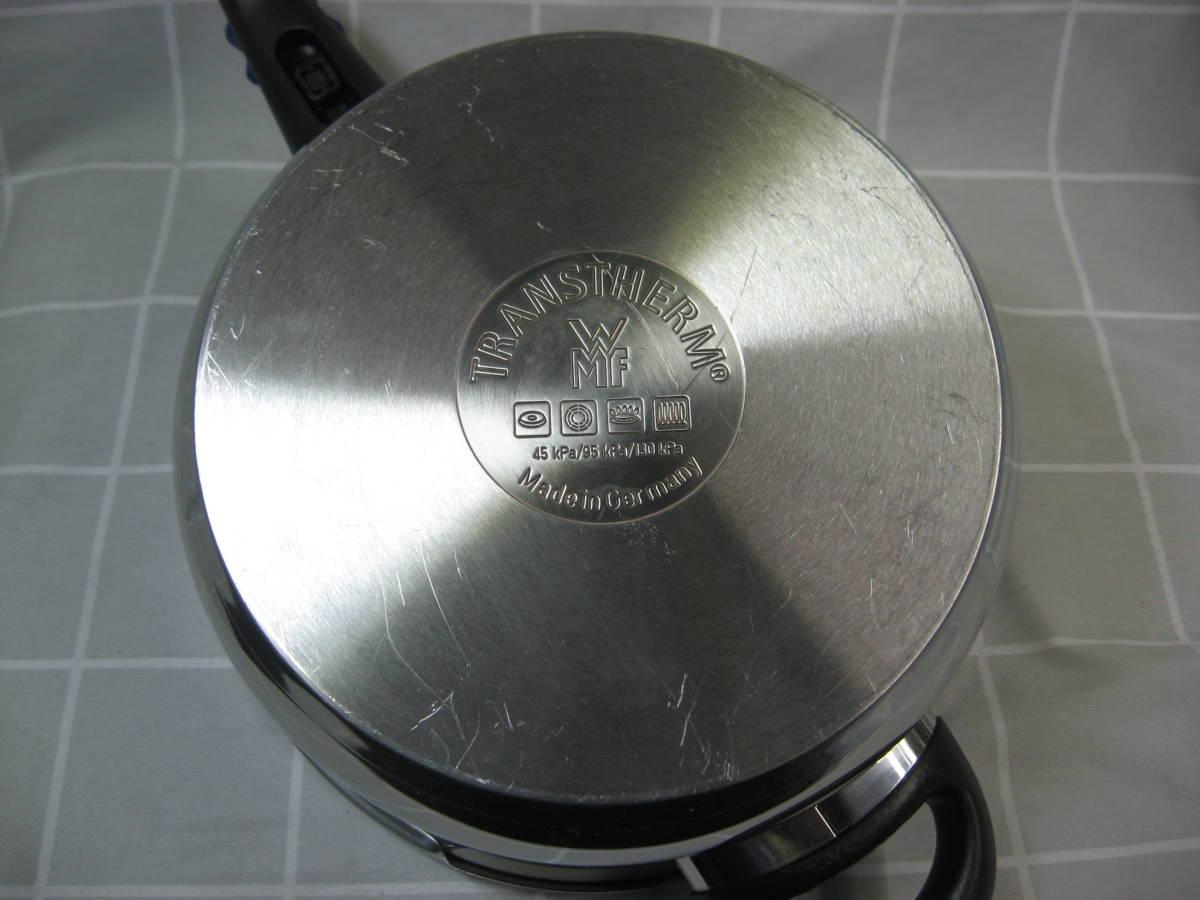 WMF ヴェーエムエフ ドイツ製 ネオパーフェクト圧力鍋 4.5L 綺麗です 送料無料_画像5