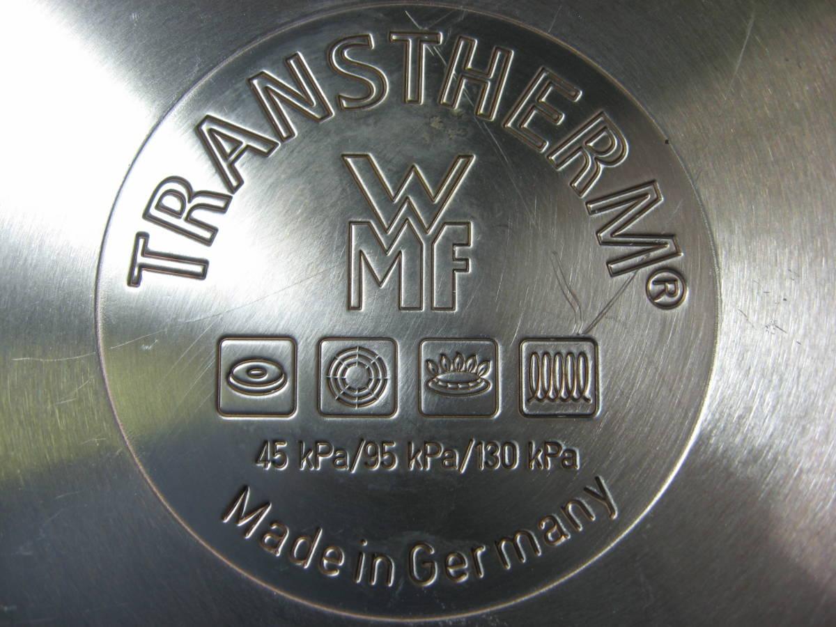WMF ヴェーエムエフ ドイツ製 ネオパーフェクト圧力鍋 4.5L 綺麗です 送料無料_画像6
