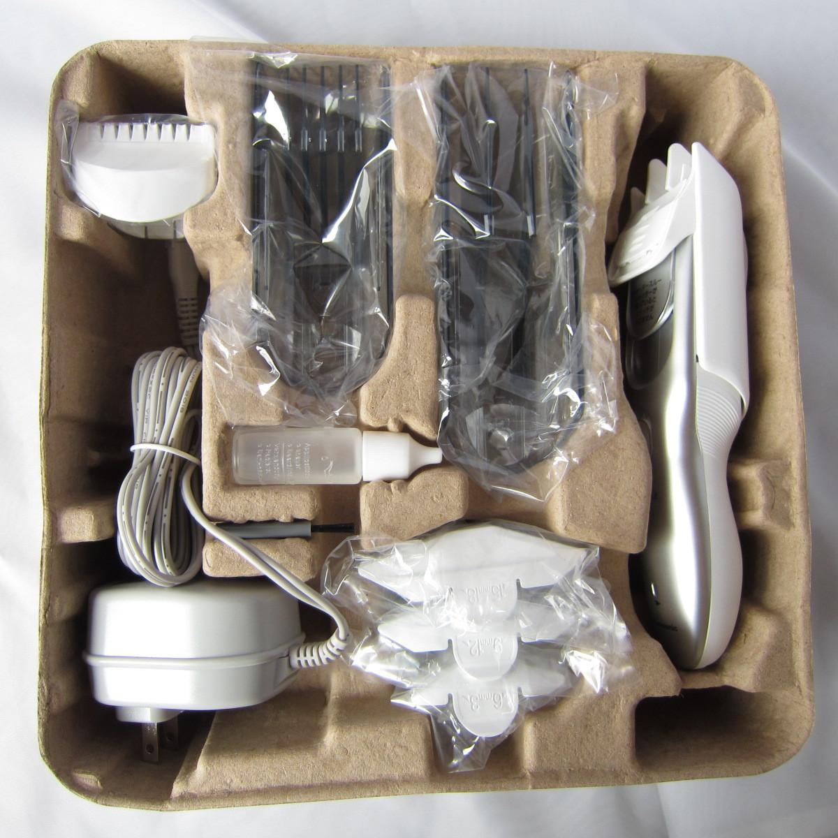 パナソニック カットモード ER-GF80 水洗い可 シルバー調_画像3