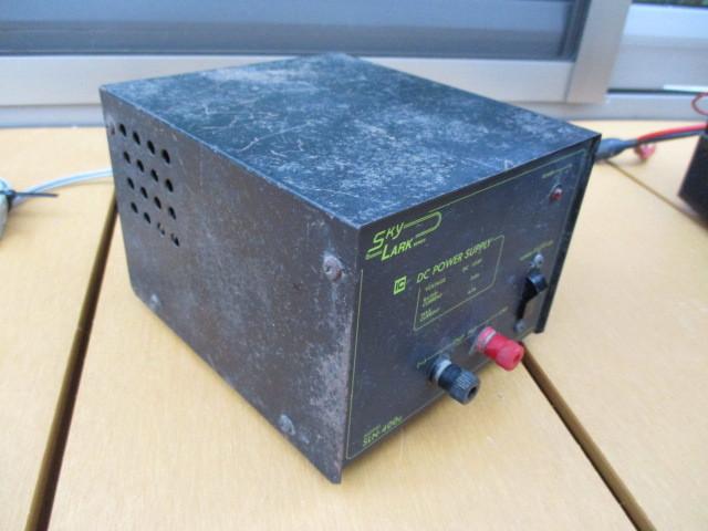 ◆◇古い無線機・安定化電源・マイクなど Sky LARK NP-100/ALINCO ALD-24/他 画像の物まとめて ジャンク◇◆_画像6