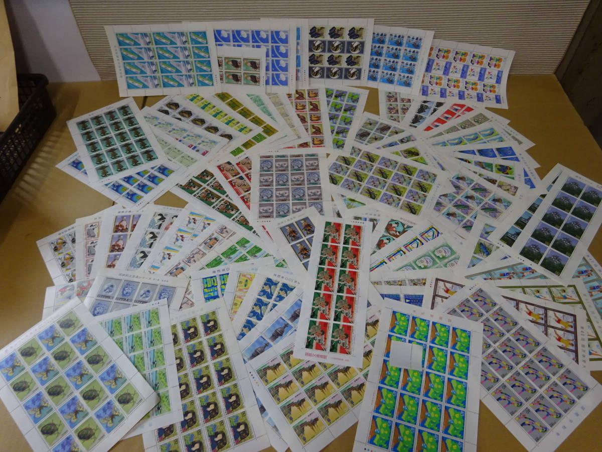 未使用切手大量 バラ 記念切手、歴史切手、国宝切手、動物切手など 総額294500円分 1円~_画像2