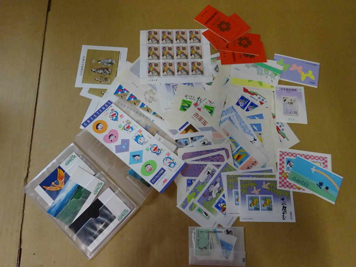 未使用切手大量 バラ 記念切手、歴史切手、国宝切手、動物切手など 総額294500円分 1円~_画像5